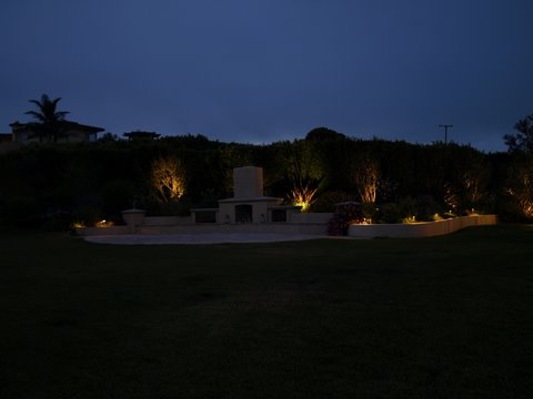 Landscape Lighting Simi Valley Patio Area