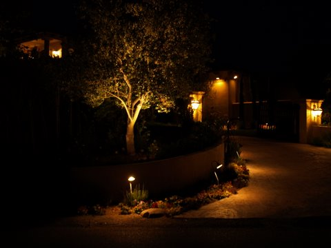 Landscape Lighting Simi Valley Driveway