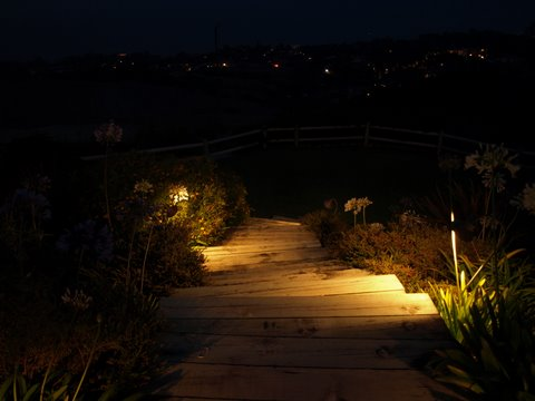 Landscape Lighting Simi Valley Steps